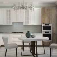 идея красивого интерьера квартиры в стиле современная классика фото