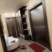 идея красивого интерьера современной квартиры 70 кв.м фото
