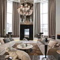 идея современного стиля дома со вторым светом картинка