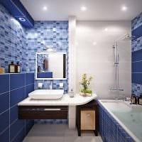 идея современного стиля ванной комнаты 4 кв.м фото