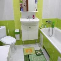 идея необычного стиля ванной 4 кв.м фото