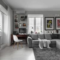 вариант необычного стиля квартиры 70 кв.м картинка