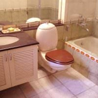 вариант современного дизайна ванной 2.5 кв.м картинка