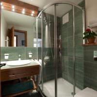 вариант яркого дизайна большой ванной комнаты картинка
