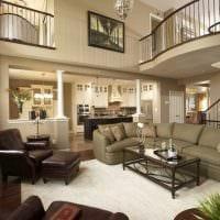идея необычного дизайна квартиры со вторым светом фото
