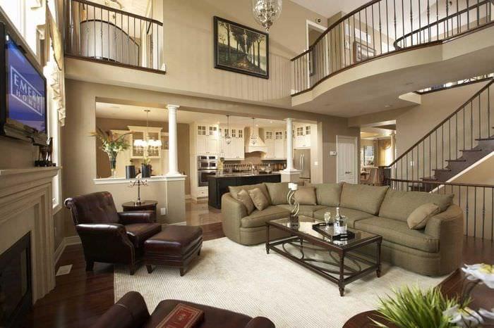 Проекты красивых домов двухэтажные фото изнутри