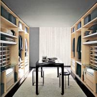 вариант красивого стиля гардеробной комнаты картинка