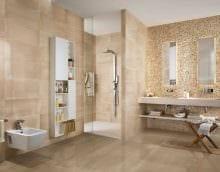 вариант необычного стиля большой ванной картинка