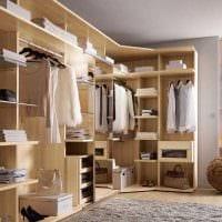 идея яркого дизайна гардеробной картинка