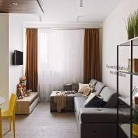 идея красивого декора гостиной комнаты в современном стиле картинка