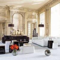 идея яркого декора квартиры в стиле современная классика фото