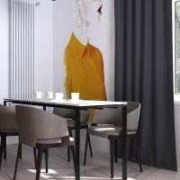 вариант необычного стиля комнаты в светлых тонах в современном стиле фото