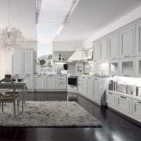 идея необычного интерьера квартиры в стиле современная классика фото