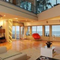 идея необычного интерьера дома со вторым светом картинка