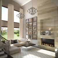вариант яркого стиля квартиры со вторым светом фото
