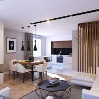 идея яркого стиля квартиры 70 кв.м фото