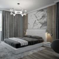 идея яркого интерьера квартиры в светлых тонах в современном стиле картинка
