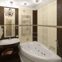 идея необычного стиля ванной 2.5 кв.м фото