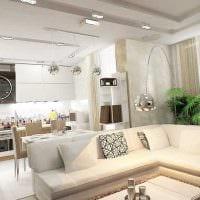 вариант яркого интерьера зала в частном доме картинка