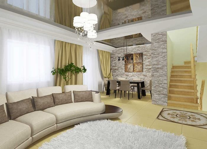 75 неповторимых идей дизайна зала в частном доме