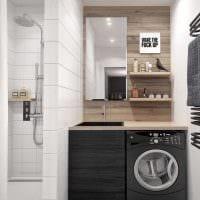 вариант красивого интерьера ванной 2.5 кв.м картинка