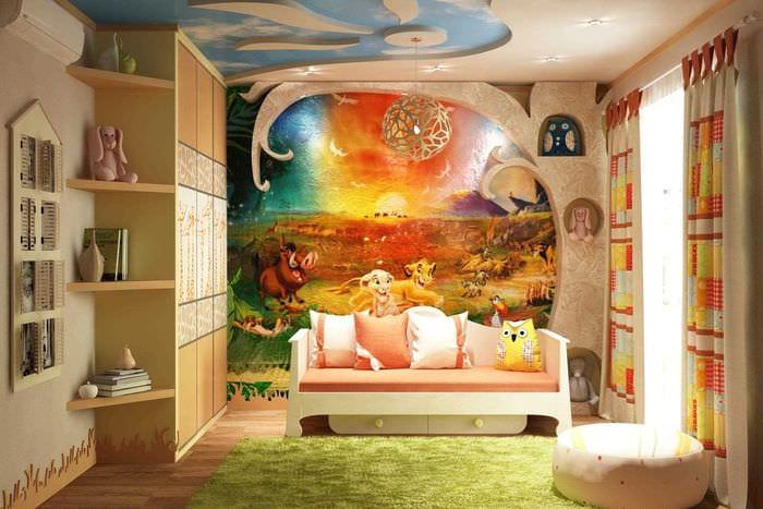 Необычная детская комната картинки