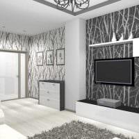 пример необычного дизайна квартиры 65 кв.м фото