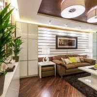 вариант необычного стиля гостиной комнаты 19-20 кв.м фото