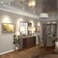 вариант светлого декора современной квартиры 65 кв.м картинка