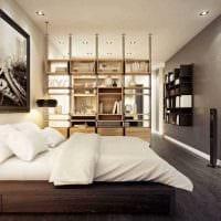 пример светлого дизайна современной квартиры 50 кв.м картинка
