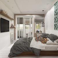 пример яркого декора современной квартиры 65 кв.м фото