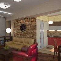 пример светлого стиля гостиной 25 кв.м картинка