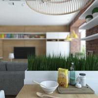 пример красивого дизайна квартиры 65 кв.м картинка