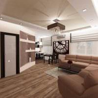 вариант необычного интерьера квартиры 50 кв.м фото