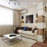 вариант необычного дизайна гостиной 16 кв.м картинка