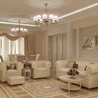 пример красивого интерьера гостиной комнаты 19-20 кв.м фото