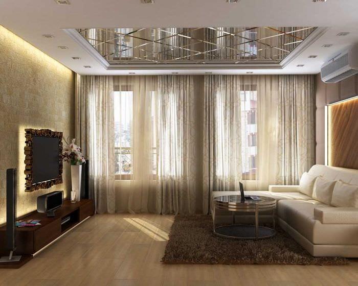 лет можно фото ремонта и дизайн гостиной все чаще темно-коричневые