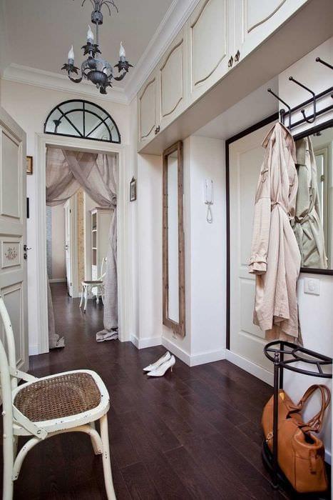 пример красивого декора современной квартиры 70 кв.м