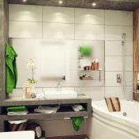пример красивого интерьера ванной комнаты 5 кв.м фото