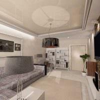 пример яркого стиля гостиной комнаты 19-20 кв.м картинка
