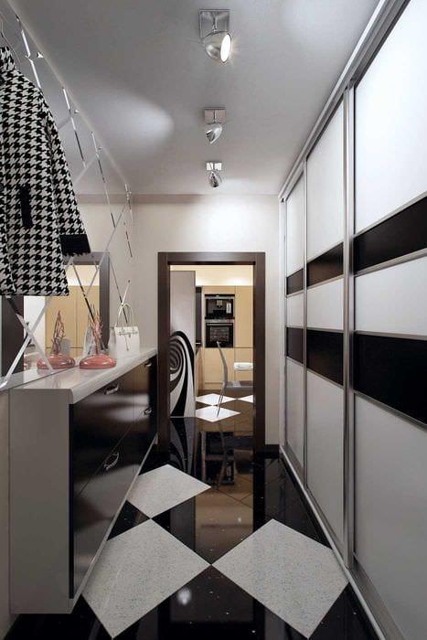 пример светлого дизайна квартиры 70 кв.м