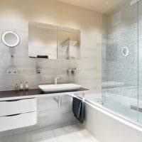 вариант необычного стиля ванной комнаты 5 кв.м картинка