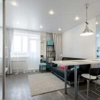 вариант яркого декора квартиры 65 кв.м фото