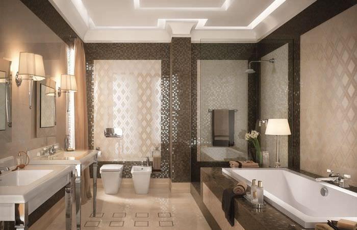 Ванная комната плитка картинки