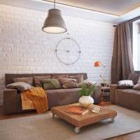 вариант необычного интерьера гостиной 16 кв.м картинка