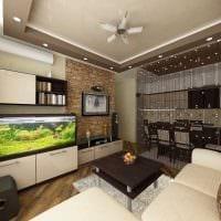 пример красивого стиля гостиной 19-20 кв.м картинка