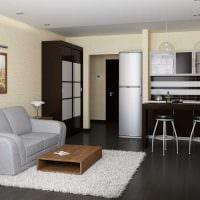 пример необычного дизайна гостиной комнаты 25 кв.м картинка