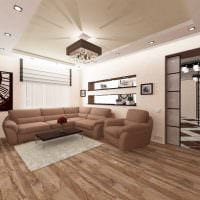пример светлого интерьера квартиры 50 кв.м картинка
