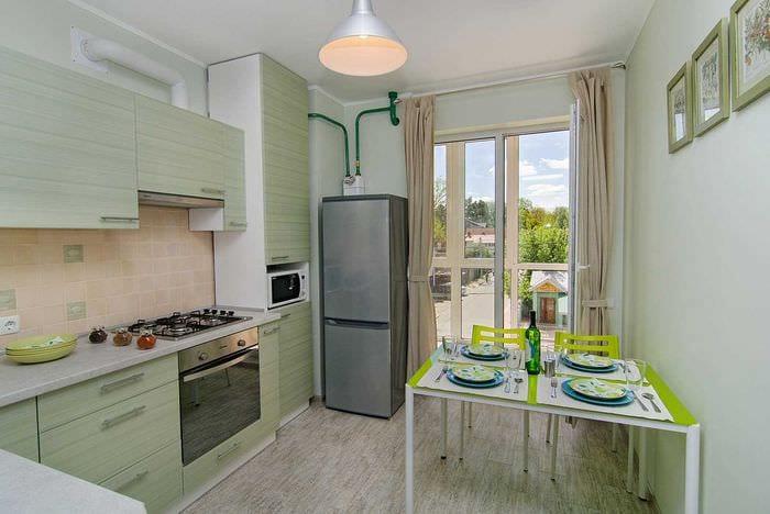 пример красивого декора современной квартиры 50 кв.м