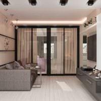 вариант яркого декора квартиры 50 кв.м картинка